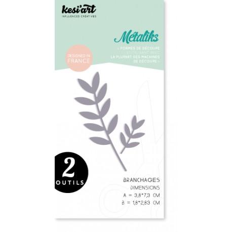 Fustella Kesi'Art - Métaliks Branchages