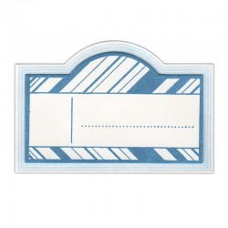 Fustella e Timbro Sizzix -  Labels, Old