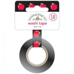 Washi Tape - Doodlebug design - Apple A Day