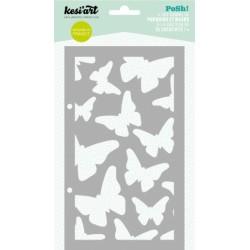 Stencil Kesi'art - Pochoir Papillons