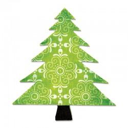 Fustella Sizzix Bigz - Tree, Christmas