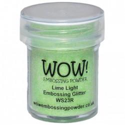 Wow! - Glitter Lime Light
