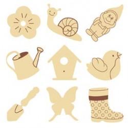 Abbellimenti in legno Artemio - Giardino