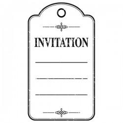 Timbro Legno Artemio - Invitation