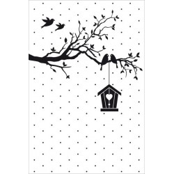 Embossing Folder Nellie Snellen - New Home