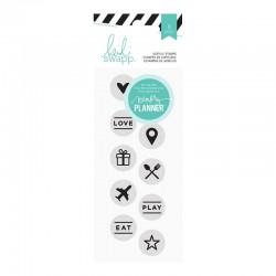 Timbri Clear Heidi Swapp - Hello Beautiful Circle Icons