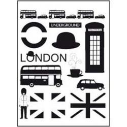 Timbri clear Artemio - London Icons