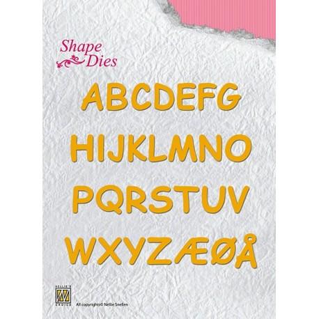Fustella Nellie Snellen - Alphabet