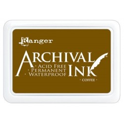 Tampone Ranger Archival Ink - Coffee