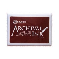 Tampone Ranger Archival Ink - Sepia