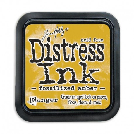 Tampone distress - Fossilized Amber