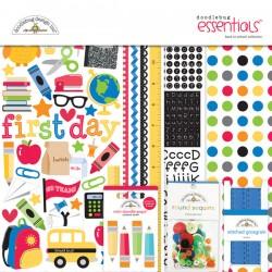 Kit carte Doodlebug design - Back to School