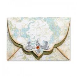 Fustella Sizzix Bigz - Envelope w/Ornate Flap