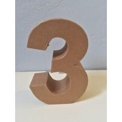 Numero in Cartone Glorex - 3