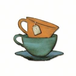 Fustella Bigz T.Holtz - Tea Time
