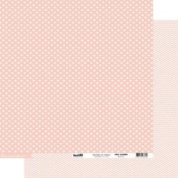 Cartoncino cardstock coeur - Rose Saumon