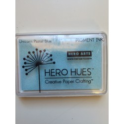 Tampone Hero Arts - Pigment Ink - Unicorn Pastel Blue