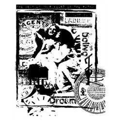 Timbro Legno Reprint - Kollage Angel