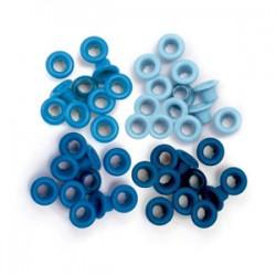 Occhielli per foratrice  We R - Standard Blue