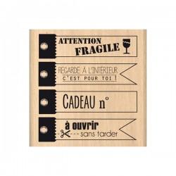 Timbro legno Florileges - A Ouvrir Sans Tarder