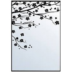 Embossing Folder Nellie Snellen - Hobby Solution - Flowering Spring