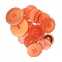 Bottoni Kesi'art-  Arancione