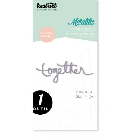 Fustella Kesi'Art - Métaliks Together