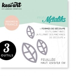 Fustella Kesi'Art - Métaliks Mini Feuillée