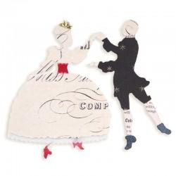 Fustella Sizzix Sizzlits B.Walton - Dancers