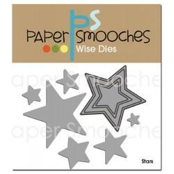 Fustella Paper Smooches - Stars