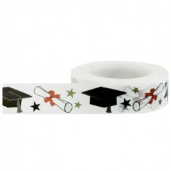 Washi Tape Little B - Mortar Boards