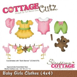 Fustella Cottage Cutz - Baby Girl Clothes