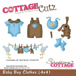 Fustella Cottage Cutz - Baby Boy Clothes