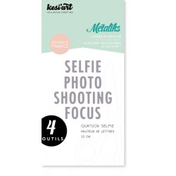 Fustella Kesi'Art - Quatuor Selfie