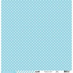Cartoncino étoile cardstock - Bleu