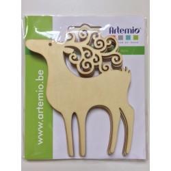 Abbellimenti in legno Artemio - Renna