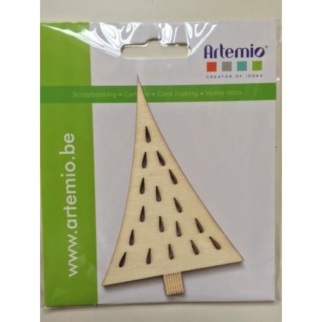 Abbellimenti in legno Artemio - Albero Intagliato