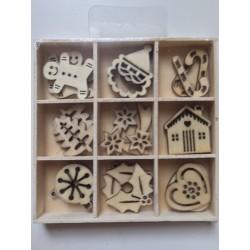 Abbellimenti in legno Artemio - Natale