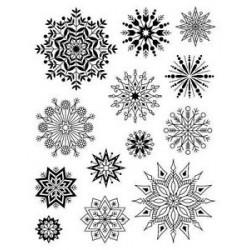 Timbri clear Artemio - Fiocchi di Neve