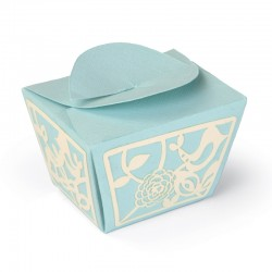 Fustella Sizzix Thinlits Plus - Love Birds Gift Box