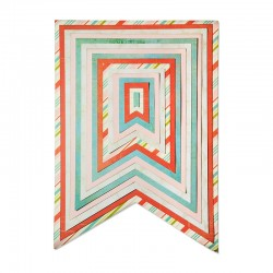 Fustella Sizzix Framelits Plus  - Banners 2
