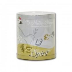 Confezione Mini Timbri Cling Heyda - Spirit