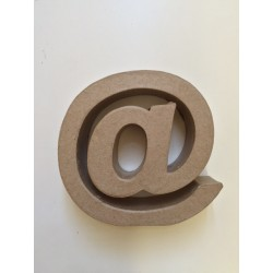 Lettera in Cartone Efco - @ Piccola