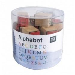 Confezione Mini Timbri Rico Design - Alphabet