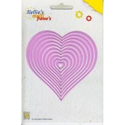 Fustella Nellie Snellen - Straight Heart