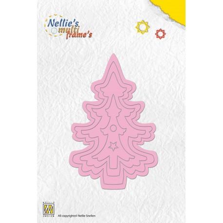 Fustella Nellie Snellen - Christmas tree 2