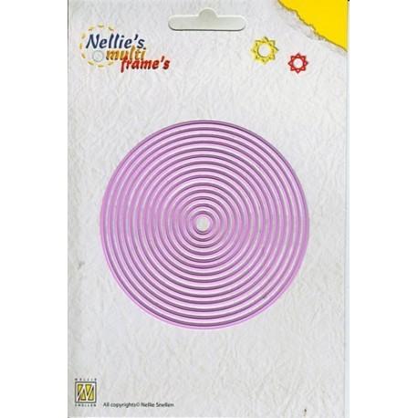 Fustella Nellie Snellen - Straight Round