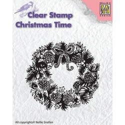 Timbro Clear Nellie Snellen - Wreath