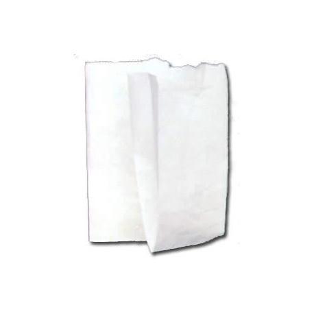 Sacchetto carta bianco - 8x18 cm