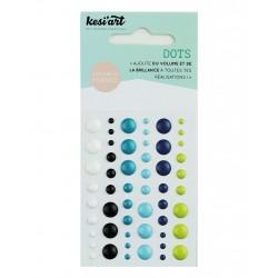 Enamel Dots Kesi'Art - Bleu